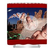 Star Stuff Shower Curtain