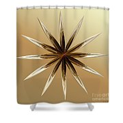 Star Tan Shower Curtain