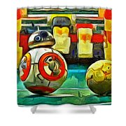 Star Wars Brothers - Pa Shower Curtain