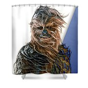 Star Wars Chewbacca Collection Shower Curtain