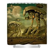 Star Wars Cockroaches Armour Shower Curtain