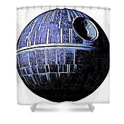 Star Wars Deathstar Graphic Shower Curtain