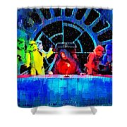 Star Wars Empire Last Supper - Pa Shower Curtain