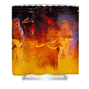 Star Wars Episode V The Empire Strikes Back Shower Curtain
