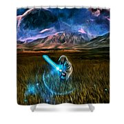 Star Wars Field Shower Curtain