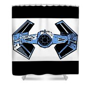 Star Wars Tie Fighter Advanced X1 Shower Curtain