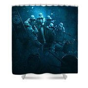 Star Wars Vs Aliens 1 Shower Curtain