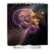 Starborn Shower Curtain