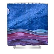 Stardust Shower Curtain