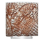 Stares - Tile Shower Curtain