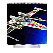 Starfighter X-wings - Da Shower Curtain