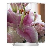 Stargazer Oriental Lilly Shower Curtain