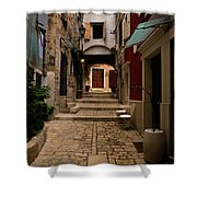 Stari Grad Steet Shower Curtain