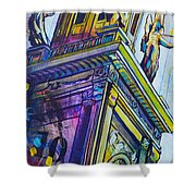 Stark County Ohio Courthouse Shower Curtain