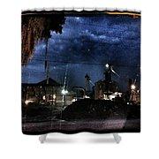Starless Night Shower Curtain
