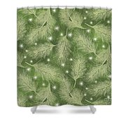 Starlight Christmas Viii Shower Curtain