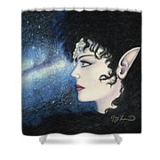 Starlight Maiden Shower Curtain