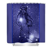 Starlight Of Space And Time 2 Shower Curtain