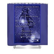 Starlight Of Space And Time 3 Shower Curtain