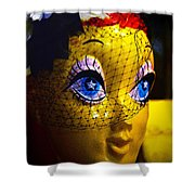 Starry Eyed Shower Curtain