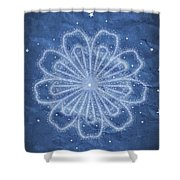 Starry Kaleidoscope Shower Curtain