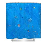 Starry Sea Of Sky Shower Curtain
