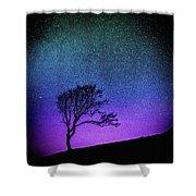 Starry Starry Night Shower Curtain