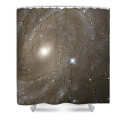 Stars And Spiral Galaxy Shower Curtain