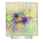 Stars Are Born Shower Curtain