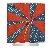 Stars Bursting In Air Shower Curtain