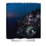 Stars Over The Grotto Shower Curtain