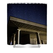 Stars Over The Pavilion Shower Curtain