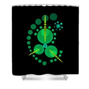 Starship Color Shower Curtain