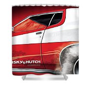 Starsky And Hutch Shower Curtain