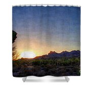 Start Of A New Day Shower Curtain
