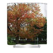 Start Of Autumn Shower Curtain