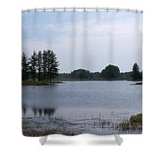 Start Of The Day Shower Curtain
