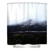 Start Of The Rockies Shower Curtain