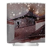 Starting To Snow Shower Curtain