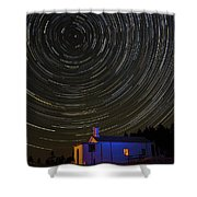 Startrail Shower Curtain