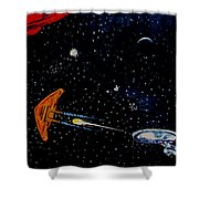 Startrek Shower Curtain