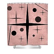 Starts And Dots Shower Curtain