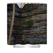 Starved Rock No 1 Shower Curtain