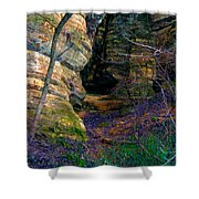 Starved Rock No 2 Shower Curtain