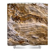 Starvedrocksandstonepatterns Shower Curtain