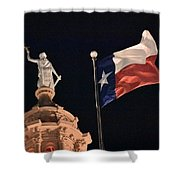 State Building Shower Curtain