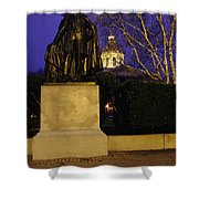 State Capitol Building - Concord New Hampshire Usa Shower Curtain by Erin Paul Donovan
