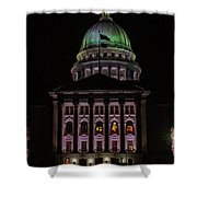 State Capitol Madison Wi Shower Curtain
