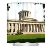 State Capitol Of Ohio Shower Curtain