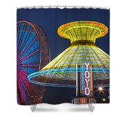 State Fair II Shower Curtain